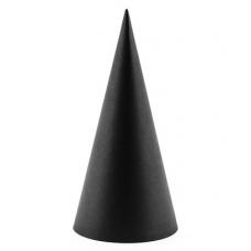 Párty klobúky čierne