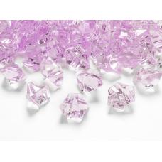 Dekoračné kamienky kryštáliky ružové 25x21mm