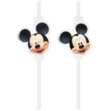 Papierové slamky Mickey Mouse