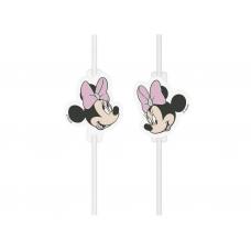 Papierové slamky Minnie Mouse
