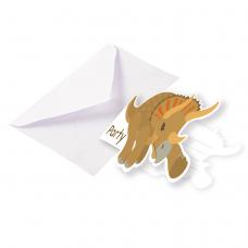 Pozvánky Happy Dinosaur