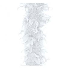 Party Doplnok BOA náhrdelník biely