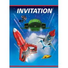 Pozvánky Thunderbirds /8ks/