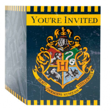 Pozvánky Harry Potter /8ks/