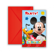 Pozvánky Mickey Mouse