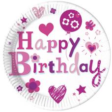 Taniere Happy Birthday dievča