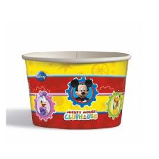 Papierový kelímok na zmrzlinu Mickey Mouse