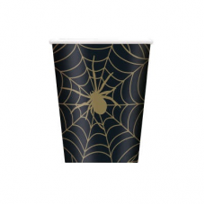 Poháre Halloween Pavúk