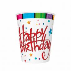 Poháre Happy Birthday