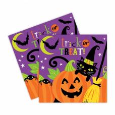 Servítky Halloween čarodejnice