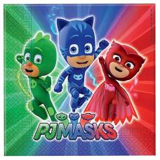 Servítky PJ Masks