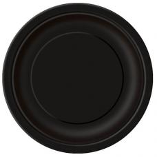 Papierové taniere čierne