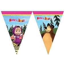 Vlajky Máša a medveď