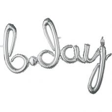 Balónový banner BDay script