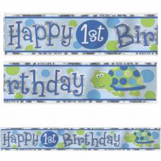 Banner 1. narodeniny chlapec