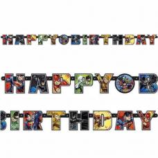 Banner Liga Spravodlivosti - Justice League