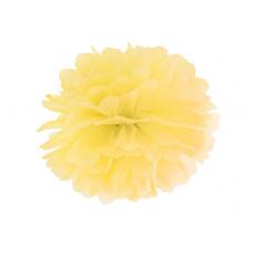 Pom pom žltý brmbolec 25 cm