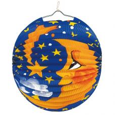 Lampión Mesiac a hviezdy Ø 25 cm