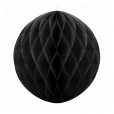 Papierová guľa čierna