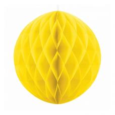 Papierová guľa žltá