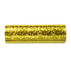 Serpentína holografická zlatá