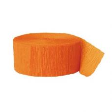 Krepová stuha oranžová
