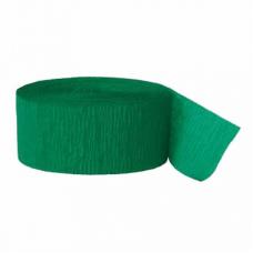 Krepová stuha zelená emerald