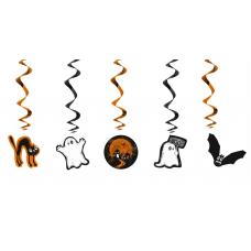 Špirála Halloween /5ks/