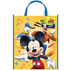 Darčeková taška Mickey Mouse plastová
