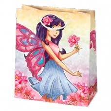 Darčeková taška dievčenským motívom