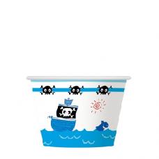 Papírový kelímek na zmrzlinu Námořník
