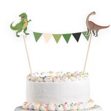 Ozdoba na tortu Happy Dinosaurus