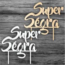 Tortový zápich Super Ségra CZ