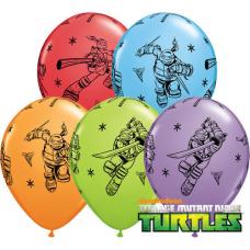 Balóny Ninja Korytnačky Q 11´´ RND