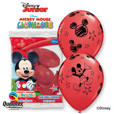 Balóny Mickey Mouse 6ks Q 12´´