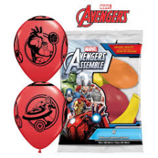 Balóny  Avangers 6 ks Q 12´´