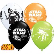 Balóny Star Wars 6ks Q 12´´ RND