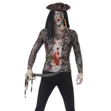 Tričko Zombie Pirát