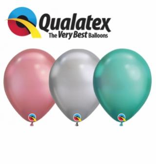 Balónky Q7 chrome