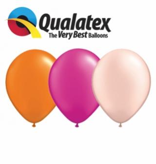 Balónky Q11 Pearl a Metalic