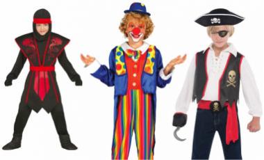 Karnevalové kostýmy chlapecké