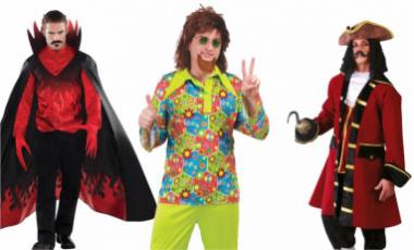Pánské karnevalové kostýmy