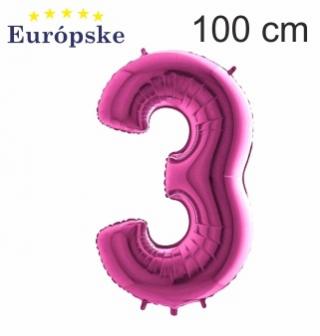 Růžové čísla maxi
