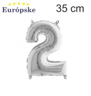 Stříbrné čísla mini