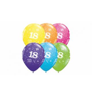 Balónky gumové s číslem