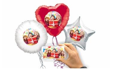 Balónky s vlastní fotkou