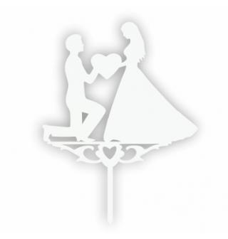 Svatební Dortové zápichy