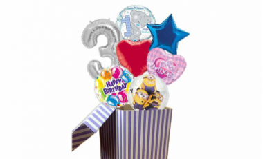 Balónky z krabice
